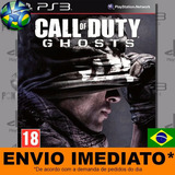 Call Of Duty Ghosts Gold - Ps3 - Código Psn - Envio Agora !!