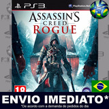 Ps3 Assassins Creed Rogue Código Psn Português Promoção