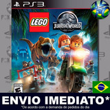 Lego Jurassic World - Ps3 - Código Psn - Dublado Português