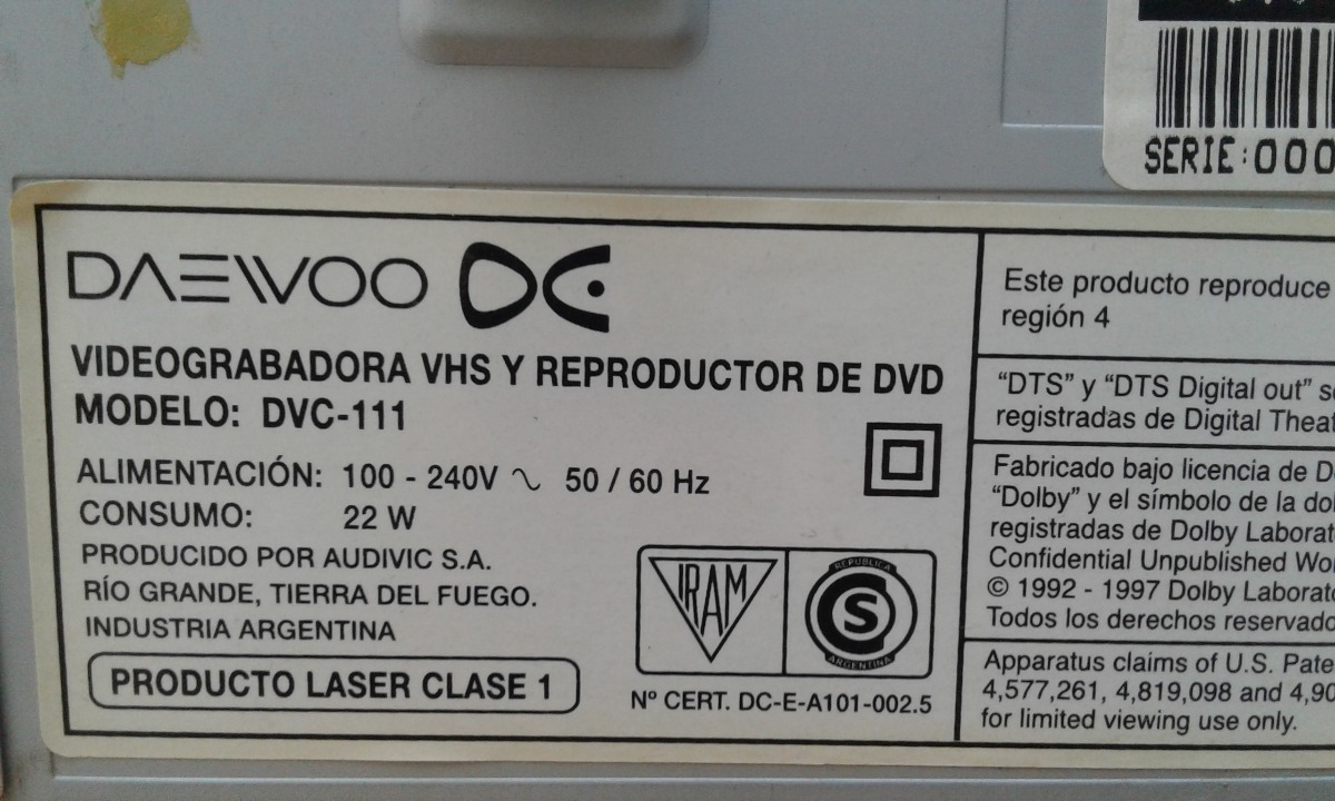 DAEWOO DVC-111 DRIVERS FOR WINDOWS DOWNLOAD