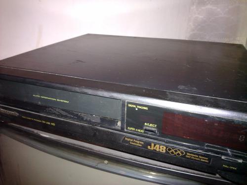 video grabadora vhs panasonic nv j48 hq ( oportunidad )