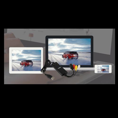 video gravador de mesa gamer capture portable hd 720p 30 fps
