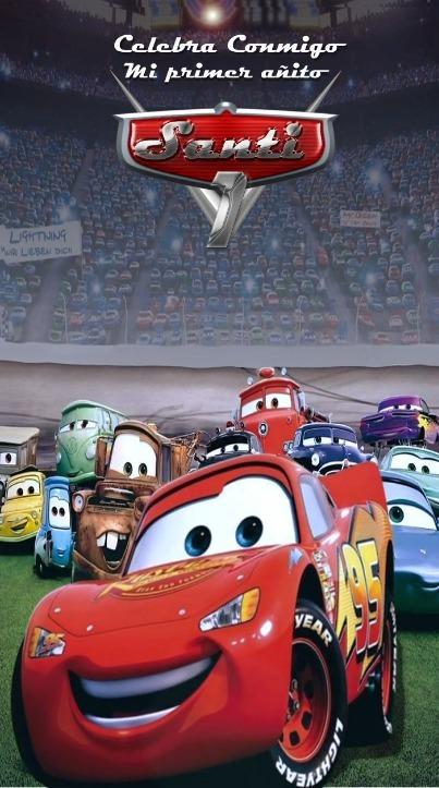 Video Invitacion Animada De Cumpleaños Cars