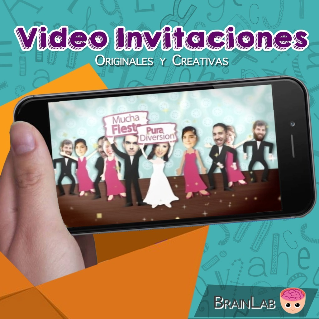 Video Invitacion Boda Cartoon Para Enviar Por Whatsapp