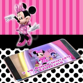 Video Invitación Cumpleaños Minnie Mouse