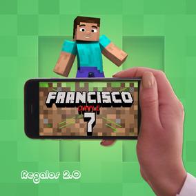 Cerdo De Minecraft Invitaciones Y Tarjetas En Mercado