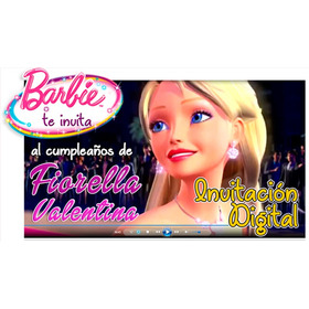Video Invitacion Personalizada De Barbie