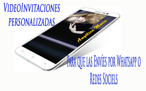 video invitaciones para enviar whatsapp y redes sociales