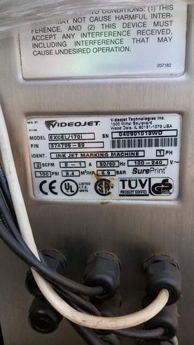 video jet model excel/170i