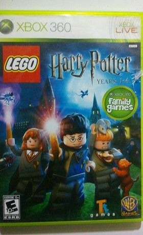 video juego de lego: harry potter years 1-4 en buen estado
