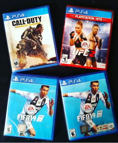 video juego fifa 2019, físico ps4
