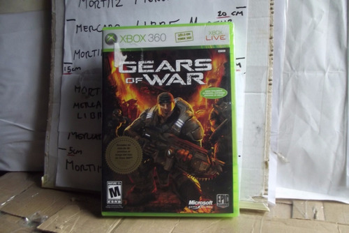 video juego gears of war xbox 360 nuevo sellado microsoft