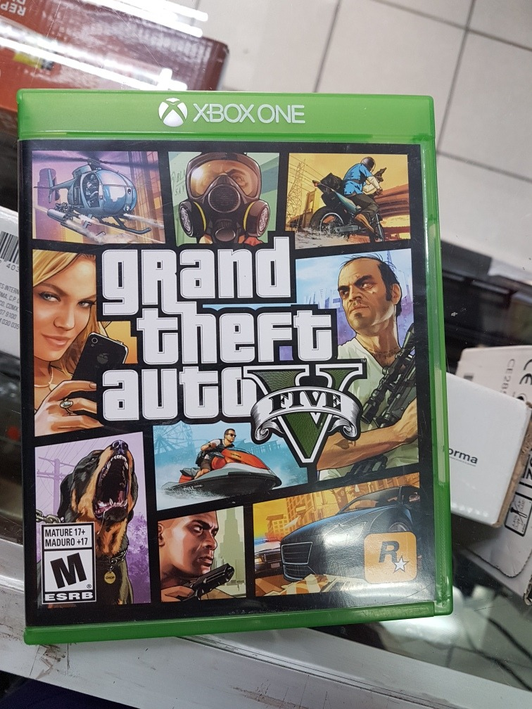 Video Juego Gta V Para Xbox One Usado Con Mapa 750 00 En Mercado