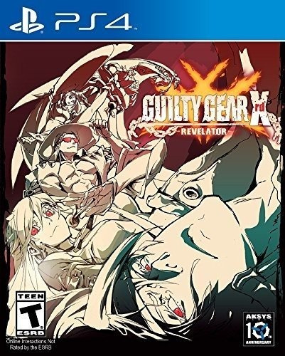 video juego guilty gear xrd -revelator- playstation 4