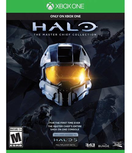 video juego halo: la colección del jefe maestro (xbox one)