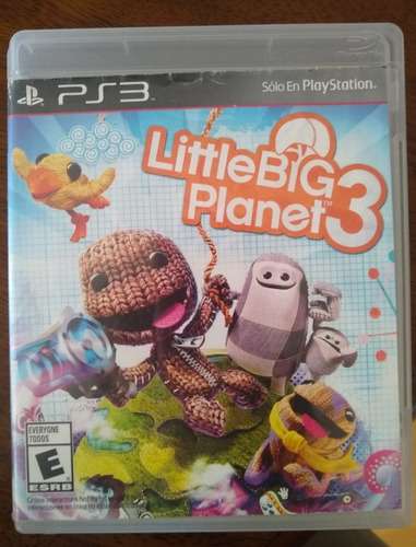 video juego little big planet 3 ps3
