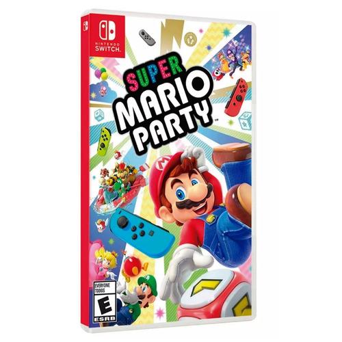 video juego  nintendo switch mario party  español nuevo