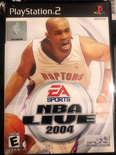 video juego original nba live 2004 para play station 2