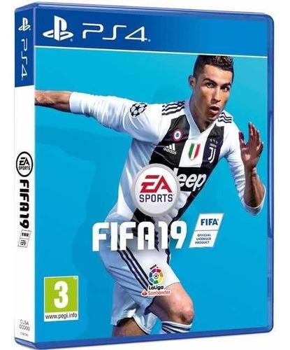 video juego para ps4 fifa 19