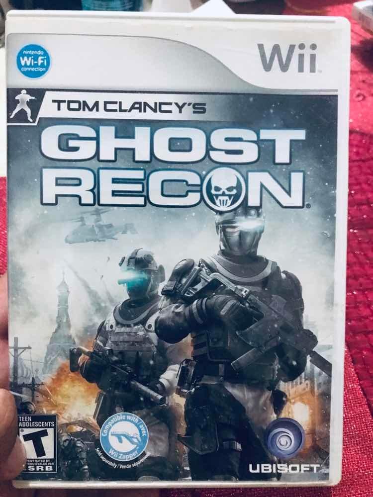 Video Juego Para Wii Toms Clancys Ghost Recon Usado 199 00 En