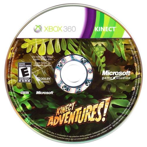 video juego para xbox 360 kinect adventures excelente estado