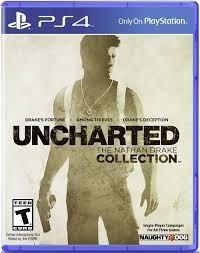 video juego ps4 uncharted collection original fisico sellado