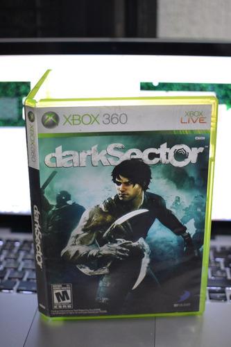 video juego xbox 360 dark sector