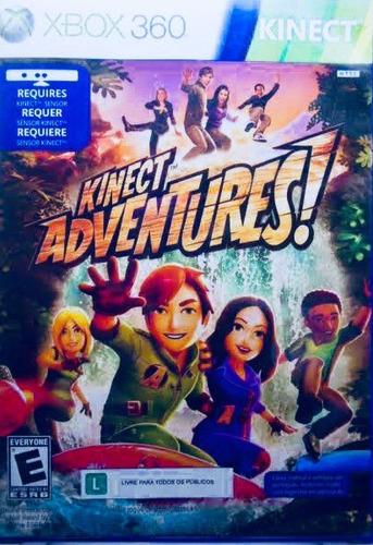 video juego xbox 360 kinect adventures