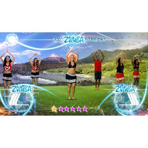 video juego zumba fitness fiesta mundial  (wii u)