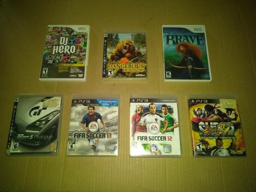 video juegos playstation3 y wii