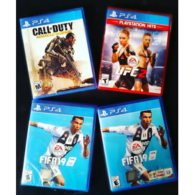 Video Juegos Ps4 Ufc Ii, Call Of Duty Advance Warfare.