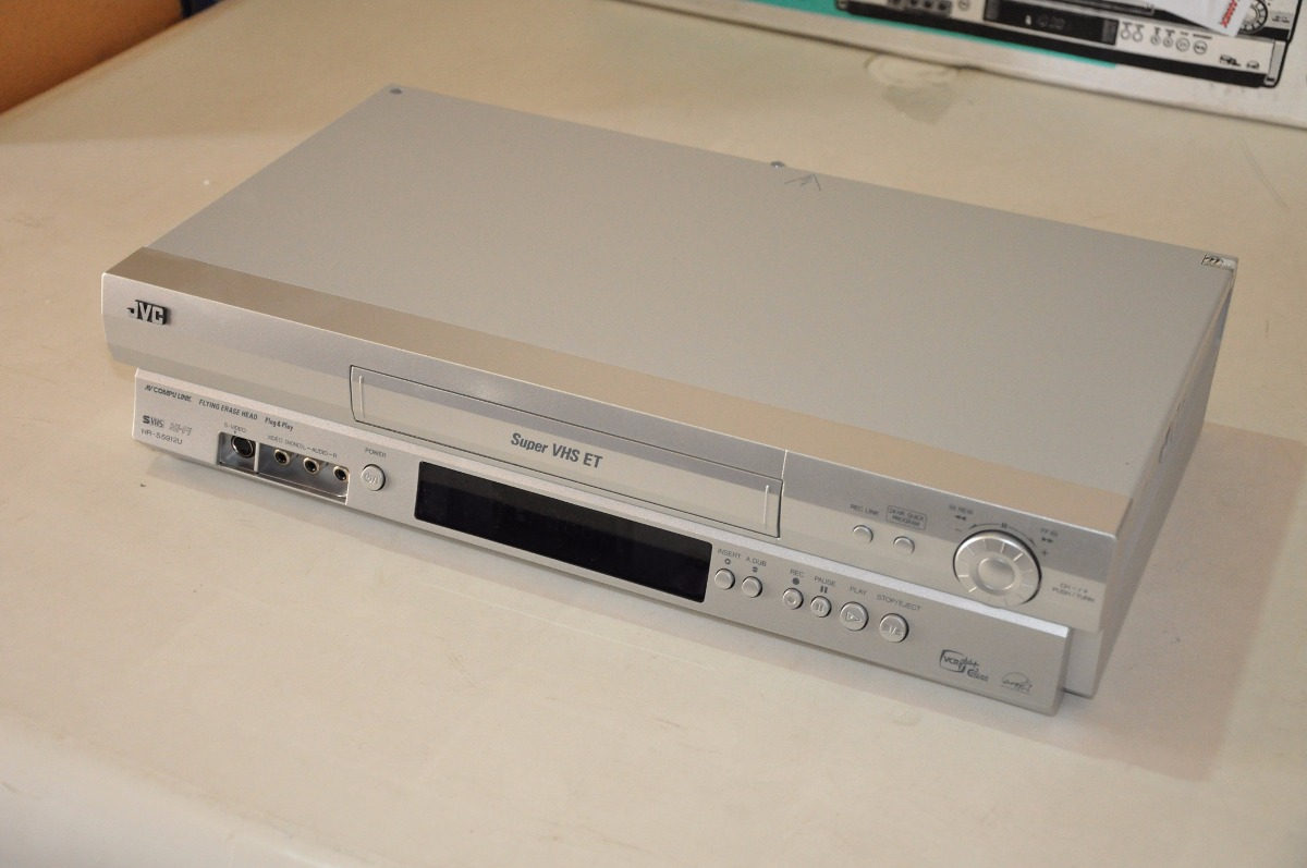 Video K7 Cassete - Jvc Hr-s5912u - Original - Novo Na Caixa!