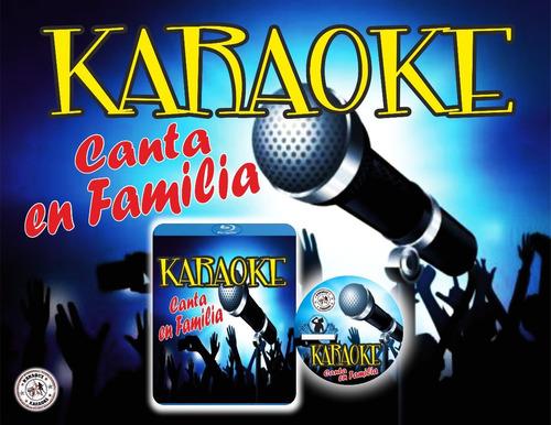 video karaoke-  video karaoke canta en familia