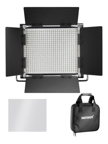 video luz regulable para estudio youtube retrato neewer