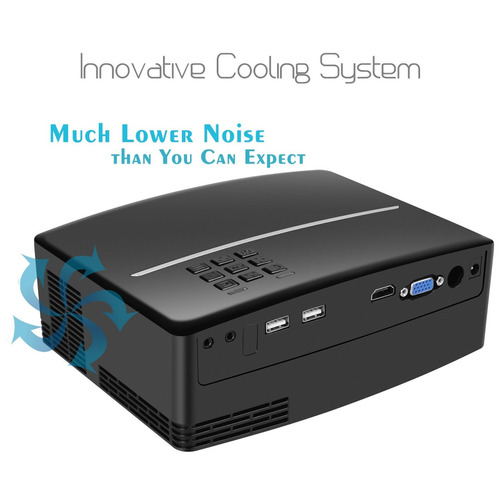 video mini proyector soporte portátil hd 1080p proyectores d
