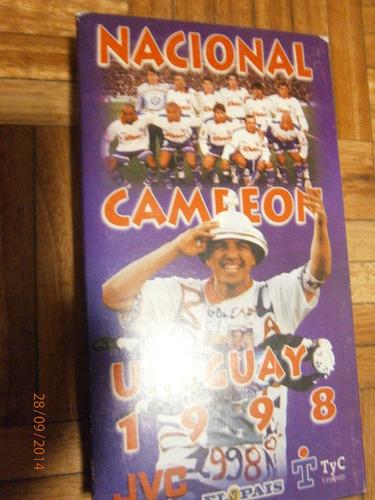 video nacional campeon uruguayo 1998