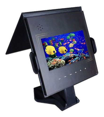 vídeo paper thargon 4gb tela ips 7 polegadas + suporte
