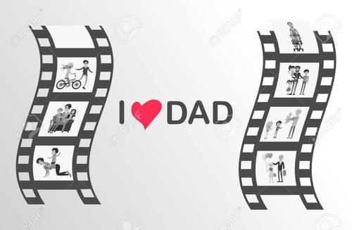video personalizado  día del padre  - invitación digital