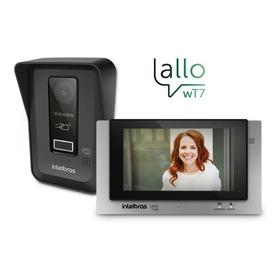 Vídeo Porteiro Intelbras Wi-fi Allo Wt7 Multi Hd 7  720p