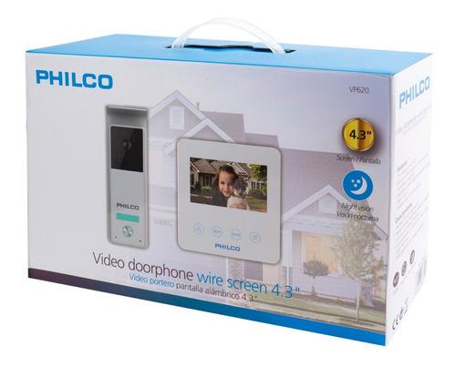 video portero alámbrico 4.3  | philco