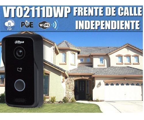 video portero dahua ip wifi conexion celular vto2111dwp
