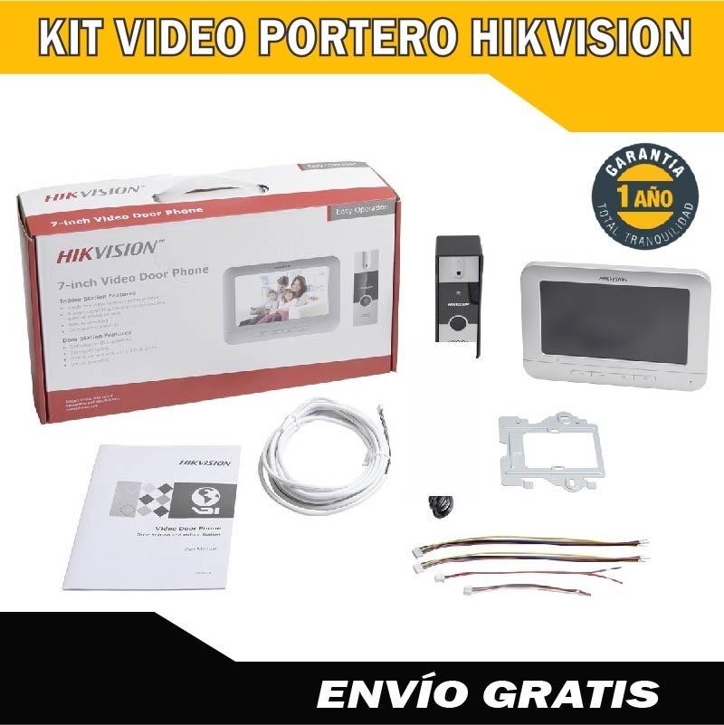 video portero hikvision