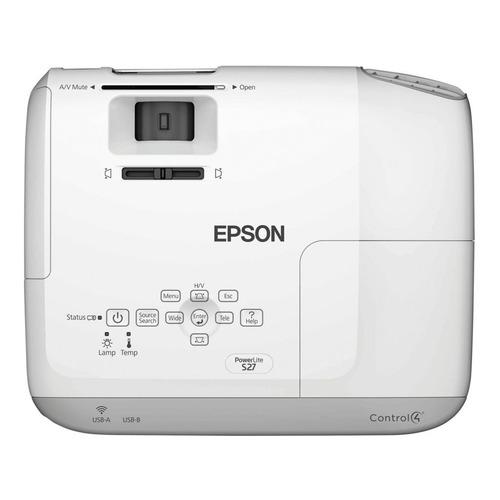video proyector epson s27 resolucion xga de 2700 lumens