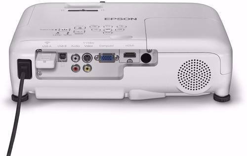 video proyector epson x36+ 3600 lumens xga 15000:1