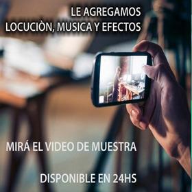 Video Publicitario Para Redes Sociales /tv / Smart / Pc