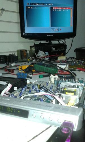 video. reparación lcd. servicio audio