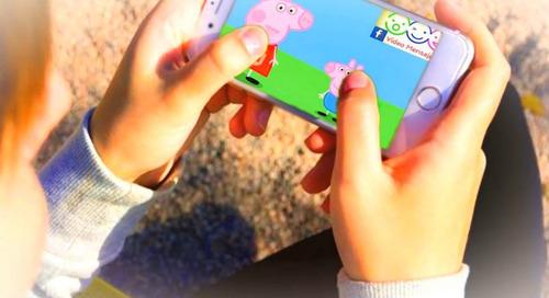video saludos infantiles personalizados