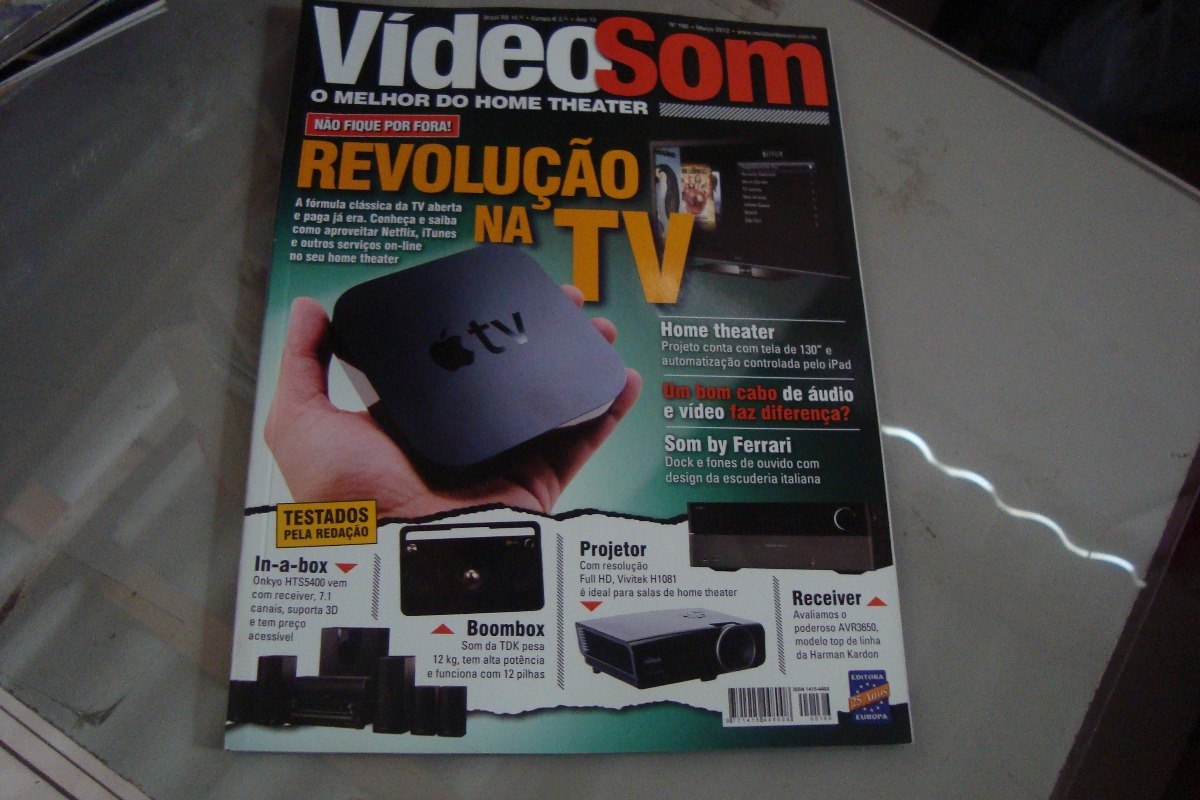 Video Som 166 Revolu Ao Na Tv Home Theater Ferrari R 10 00 Em  -> Sala De Tv E Som
