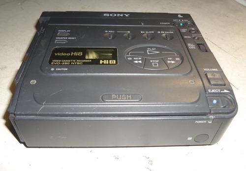 vídeo sony evo-250 hi8 8mm micro vcr