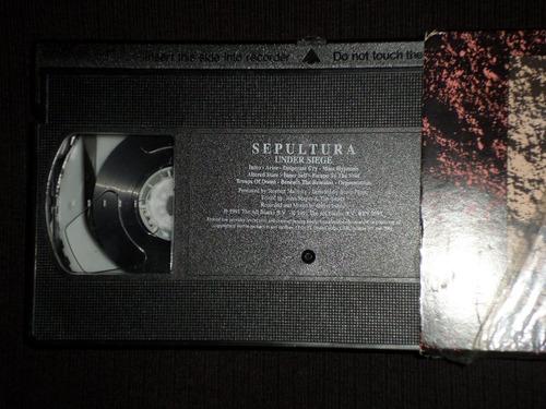 video tapes para metaleros: sepultura live in barcelona